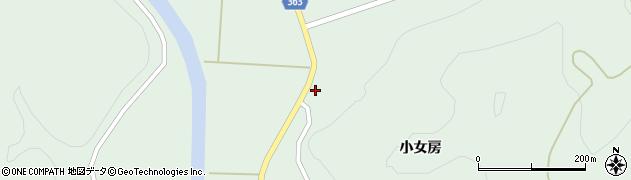 山形県酒田市田沢小女房43周辺の地図