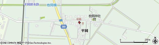 山形県東田川郡庄内町平岡平岡25周辺の地図