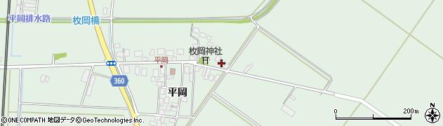 山形県東田川郡庄内町平岡平岡55周辺の地図