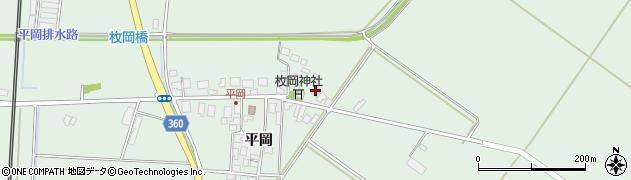 山形県東田川郡庄内町平岡平岡52周辺の地図