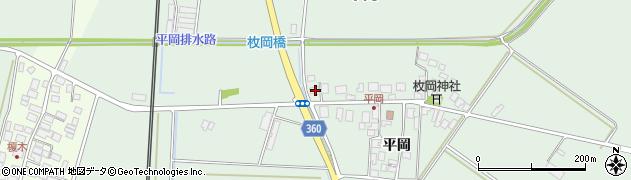 山形県東田川郡庄内町平岡平岡30周辺の地図