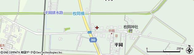 山形県東田川郡庄内町平岡平岡33周辺の地図