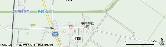 山形県東田川郡庄内町平岡平岡11周辺の地図
