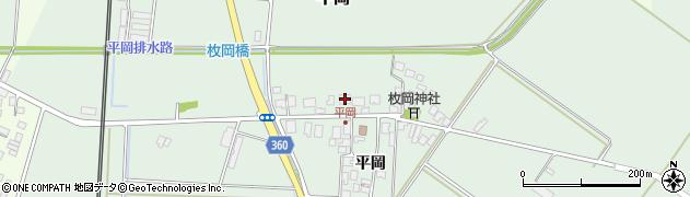 山形県東田川郡庄内町平岡平岡39周辺の地図