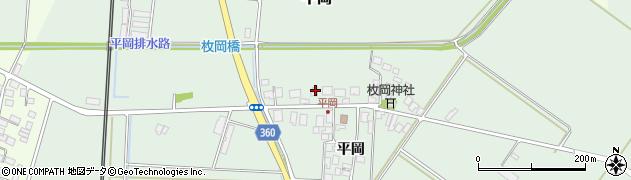 山形県東田川郡庄内町平岡平岡36周辺の地図