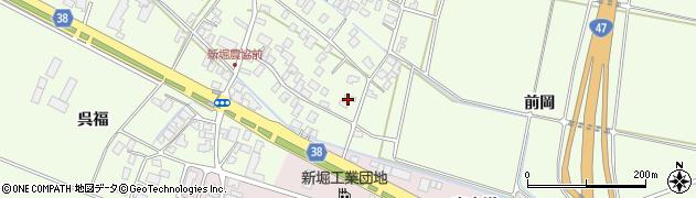 山形県酒田市新堀前岡327周辺の地図