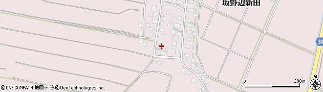 山形県酒田市坂野辺新田甲周辺の地図