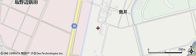 山形県酒田市広野奥井202周辺の地図