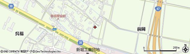 山形県酒田市新堀前岡324周辺の地図