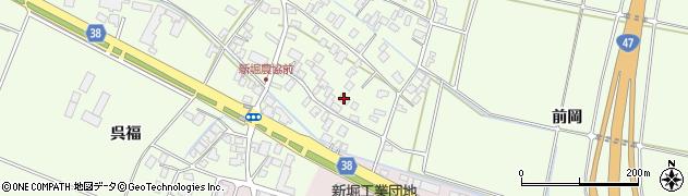 山形県酒田市新堀豊森22周辺の地図