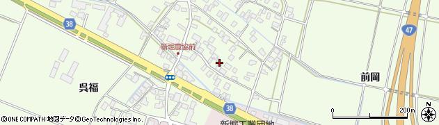 山形県酒田市新堀豊森18周辺の地図