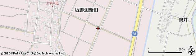 山形県酒田市坂野辺新田(二番割)周辺の地図