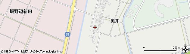 山形県酒田市広野奥井205周辺の地図