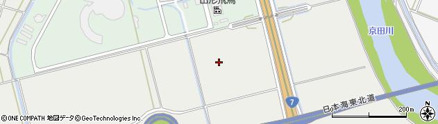 山形県酒田市広野佐渡尻周辺の地図