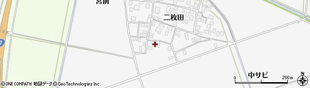 山形県酒田市丸沼二枚田31周辺の地図