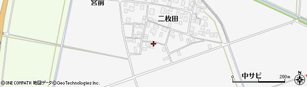 山形県酒田市丸沼二枚田32周辺の地図