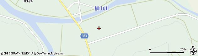 山形県酒田市田沢長田周辺の地図