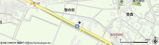 山形県酒田市新堀聖の宮31周辺の地図