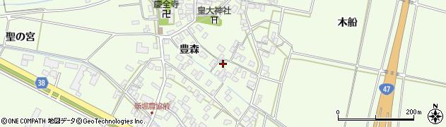 山形県酒田市新堀前岡95周辺の地図