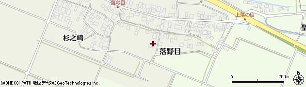 山形県酒田市落野目十寸穂56周辺の地図