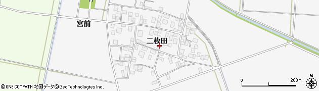 山形県酒田市丸沼二枚田59周辺の地図