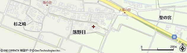 山形県酒田市落野目十寸穂95周辺の地図
