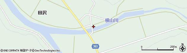 山形県酒田市田沢小平5周辺の地図