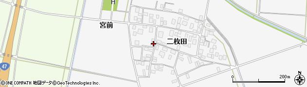 山形県酒田市丸沼二枚田51周辺の地図