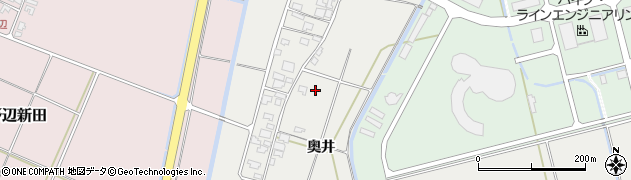 山形県酒田市広野奥井周辺の地図