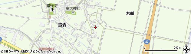 山形県酒田市新堀前岡226周辺の地図