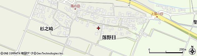 山形県酒田市落野目十寸穂51周辺の地図