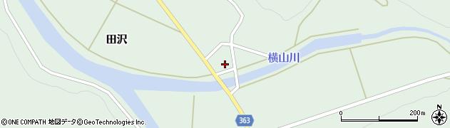山形県酒田市田沢道ノ外102周辺の地図