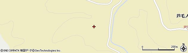 岩手県一関市藤沢町新沼(室沢)周辺の地図
