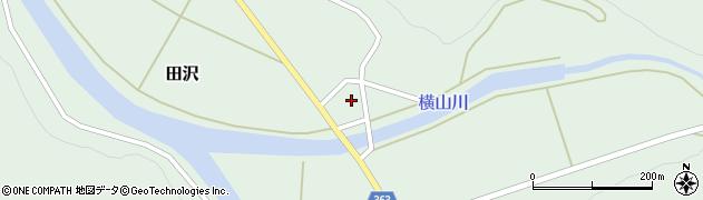 山形県酒田市田沢道ノ外101周辺の地図