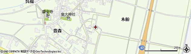 山形県酒田市新堀前岡235周辺の地図