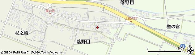 山形県酒田市落野目十寸穂84周辺の地図