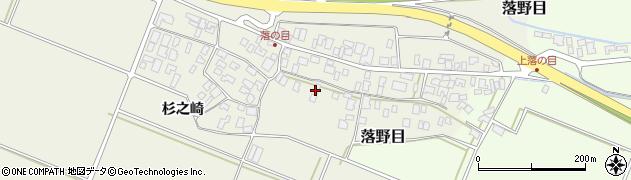 山形県酒田市落野目十寸穂44周辺の地図
