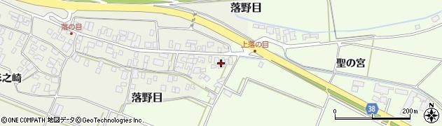 山形県酒田市新堀聖の宮107周辺の地図