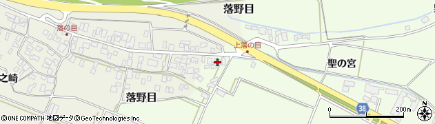 山形県酒田市新堀聖の宮109周辺の地図