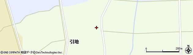 山形県酒田市引地宅地96周辺の地図