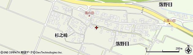 山形県酒田市落野目十寸穂40周辺の地図