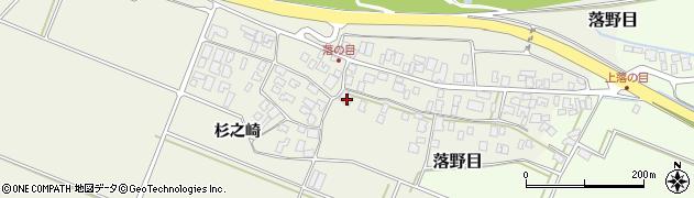 山形県酒田市落野目十寸穂25周辺の地図