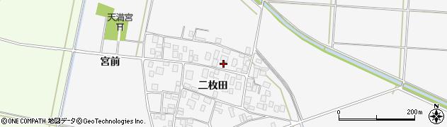 山形県酒田市丸沼二枚田77周辺の地図