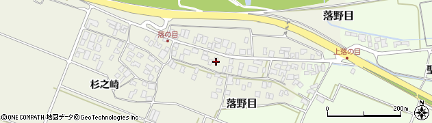 山形県酒田市落野目十寸穂46周辺の地図