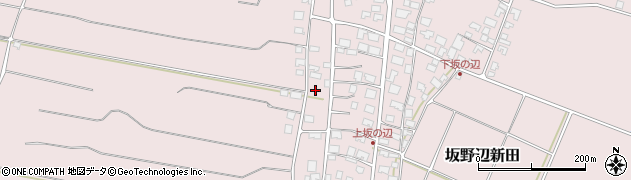 山形県酒田市坂野辺新田坂野辺31周辺の地図