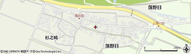 山形県酒田市落野目十寸穂45周辺の地図