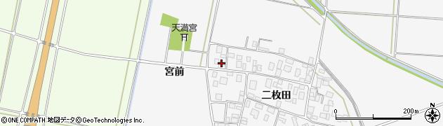 山形県酒田市丸沼二枚田93周辺の地図