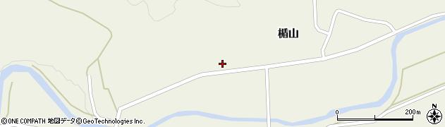山形県酒田市楯山岩花68周辺の地図