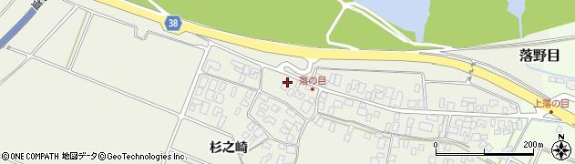 山形県酒田市落野目川前63周辺の地図