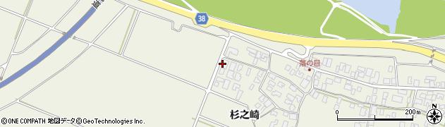 山形県酒田市落野目杉之崎165周辺の地図